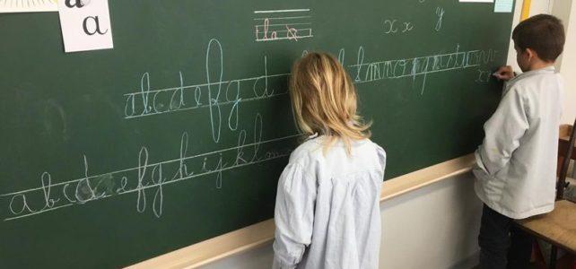 Les GS apprennent à écrire …