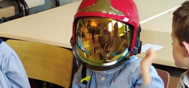 Les Pompiers à l'école !