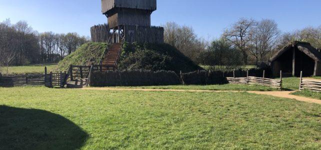 Visite du château à motte de Verrière en Anjou