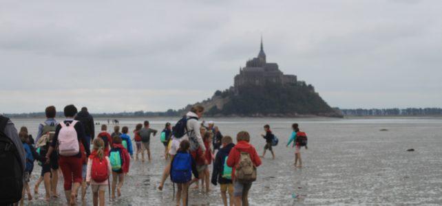 Pèlerinage vers le Mont Saint Michel