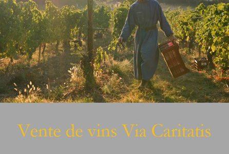 Vente de vins Via Caritatis